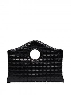 Стеганый клатч Anouk A.W.A.K.E. Mode. Цвет: черный
