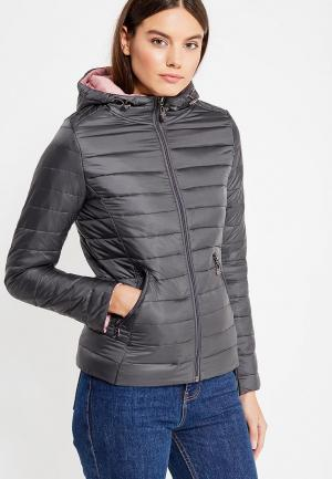 Куртка утепленная Adrixx. Цвет: серый