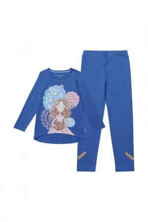 Комплект: джемпер, брюки Kogankids. Цвет: мультицвет