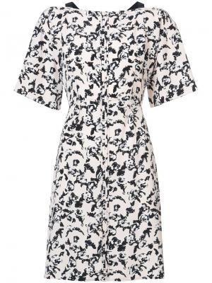 Платье с короткими рукавами Proenza Schouler. Цвет: розовый
