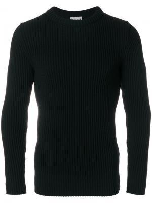 Классический трикотажный свитер S.N.S. Herning. Цвет: черный