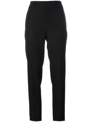 Прямые брюки Saint Laurent. Цвет: черный