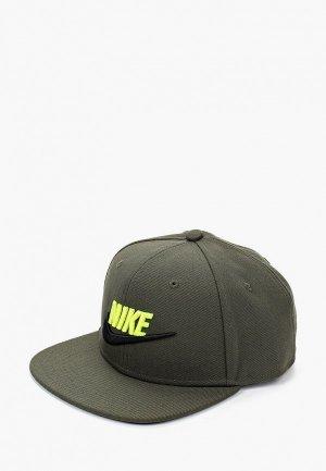 Бейсболка Nike. Цвет: хаки