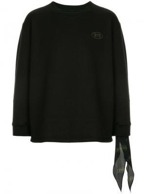 Logo sweatshirt Wooyoungmi. Цвет: черный