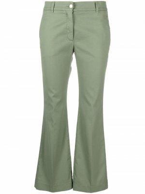 Укороченные брюки чинос Incotex. Цвет: зеленый