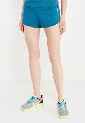 Шорты спортивные Roxy. Цвет: синий