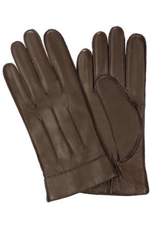 Перчатки Michel Katana. Цвет: темно-кофейный