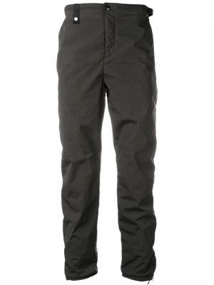 Прямые брюки CP Company. Цвет: серый