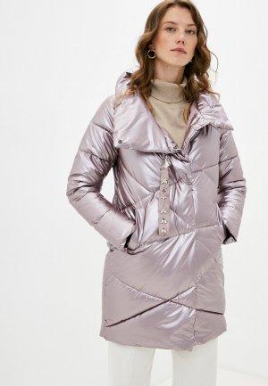 Куртка утепленная Mamma Mia. Цвет: розовый