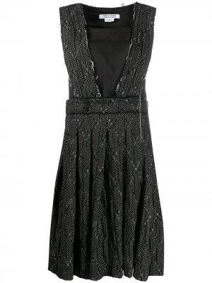 Платье-сарафан Comme Des Garçons. Цвет: черный
