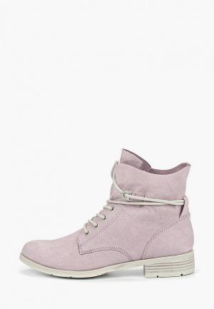 Ботинки Marco Tozzi. Цвет: фиолетовый