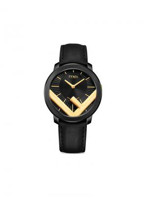 Run Away 41mm watch Fendi. Цвет: черный