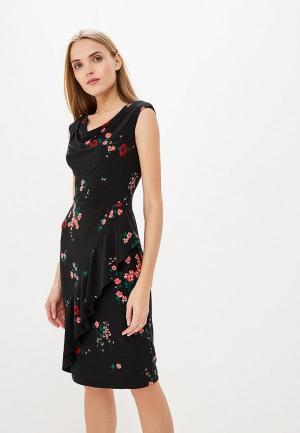 Платье Lauren Ralph. Цвет: черный