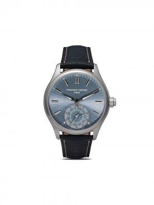 Наручные часы Horological Smartwatch Gents Classics 42 мм Frédérique Constant. Цвет: light blue color dial with sunray decoration