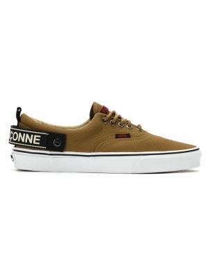 Canvas sneakers À La Garçonne. Цвет: коричневый