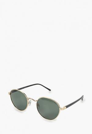 Очки солнцезащитные Invu. Цвет: золотой