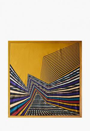 Платок Leo Ventoni. Цвет: желтый