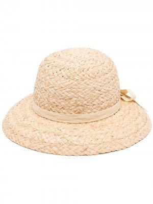 Шляпа Bloom с бантом Lack Of Color. Цвет: коричневый