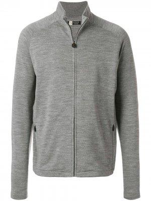 Флисовая куртка TECHMERINO™ Z Zegna. Цвет: серый