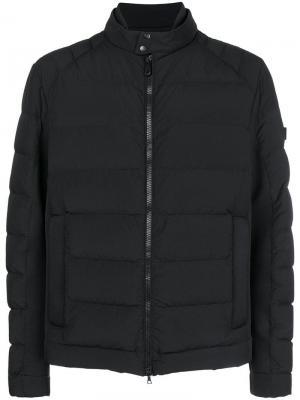 Zip padded jacket Peuterey. Цвет: черный