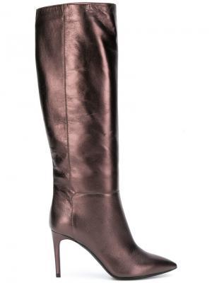 Knee high boots Pollini. Цвет: коричневый