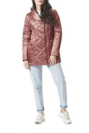 Куртка DIMMA. Цвет: пепел розы