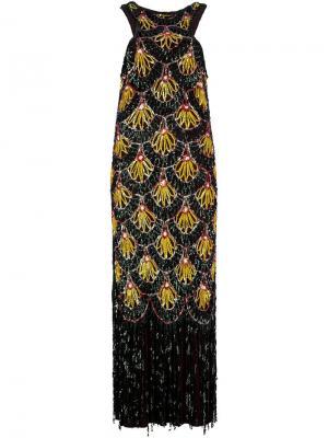 Платье с узором из блёсток Jean Paul Gaultier Pre-Owned. Цвет: разноцветный