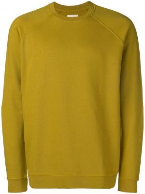 Crew neck sweater Folk. Цвет: желтый