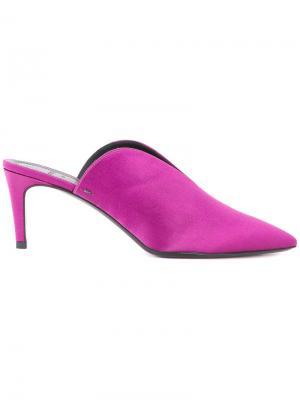 Мюли Sylvie Aeyde. Цвет: розовый и фиолетовый